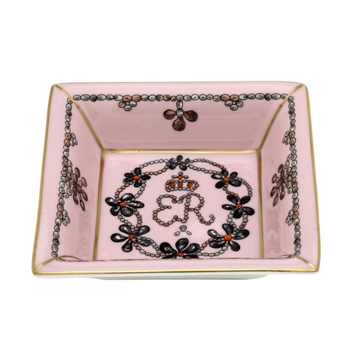 Halcyon Days Shells Collection Square Tray BCCSC26STG
