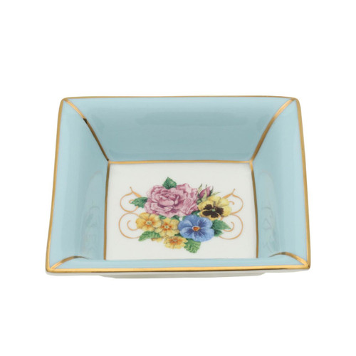 Halcyon Days Shell Garden Square Tray BCCSG12STG