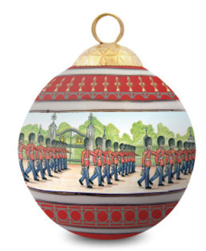 Halcyon Days Changing the Guard (Royal Residences) Bauble Ornament BCCTG06XBN