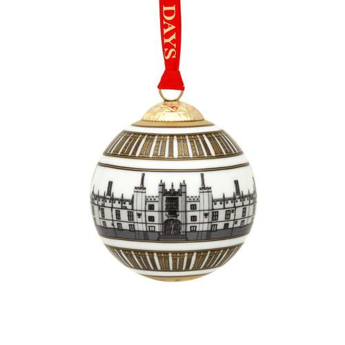 Halcyon Days Hampton Court Palace Bauble Ornament BCHHC03XBN