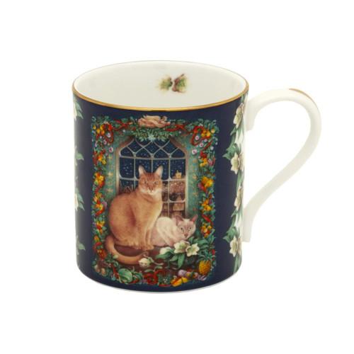 Halcyon Days LAI June's Cat at Christmas Mug BCLJC06MGG