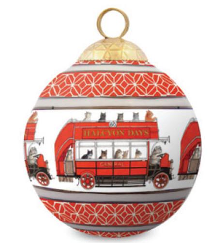 Halcyon Days LAI Joyride Bauble Ornament BCLJO03XBN