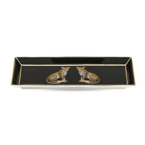 Halcyon Days Tiger Rectangular Tray BCMWT02RTG