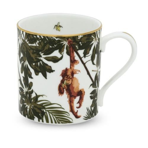 Halcyon Days Orangutan White Mug BCORA03MGG