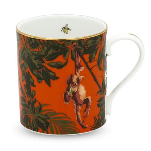 Halcyon Days Orangutan Orange Mug BCORA07MGG
