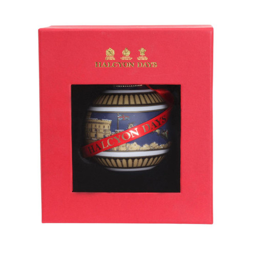 Halcyon Days Windsor Castle by Night Bauble Ornament BCWCN11XBN