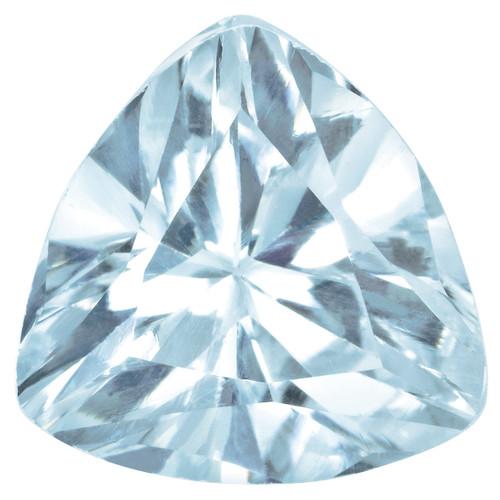 Aquamarine 4mm Trillion Gemstone AQ-0400-TRF-A