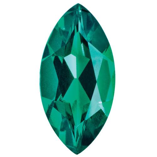 Created Emerald 6X3mm Marquise Gemstone CE-0603-MQF