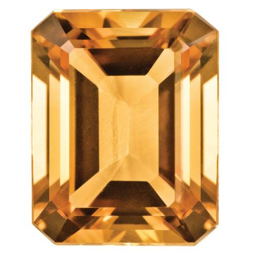 Citrine 5X3mm Emerald Cut Gemstone CI-0503-OCE-AA
