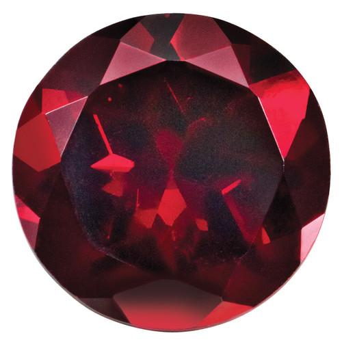Created Ruby 1.25mm Round Gemstone CR-0125-RDF