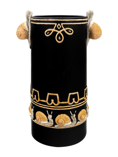 Bordallo Pinheiro Arte Bordallo Vase Snails Decorated 65003926