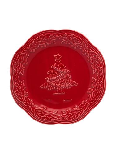 Bordallo Pinheiro Christmas  Red Fruit Plate MPN: 65002336 EAN: 5600876072092