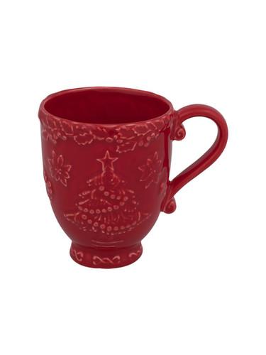 Bordallo Pinheiro Christmas  Red Mug MPN: 65002075 EAN: 5600876072146