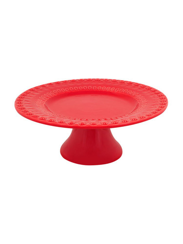 Bordallo Pinheiro Fantasy Red Cake Stand MPN: 65002300 EAN: 5600876075901