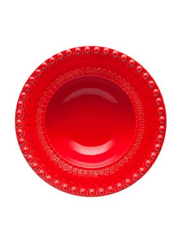 Bordallo Pinheiro Fantasy Red Salad Bowl MPN: 65002254 EAN: 5600876075741