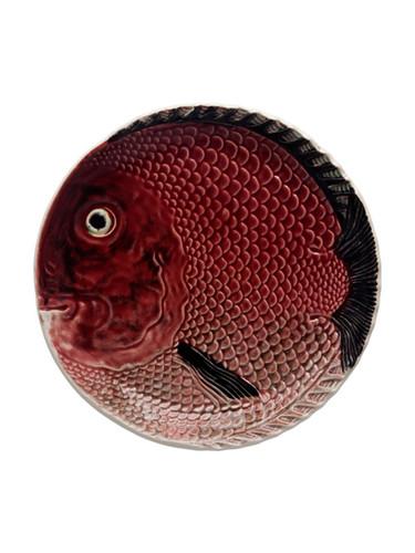 Bordallo Pinheiro Fish Decorated Red Fruit Plate MPN: 65001523 EAN: 5600876078803