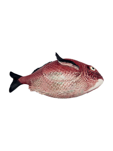 Bordallo Pinheiro Fish Decorated Red Horizontal Tureen L MPN: 65007003 EAN: 5600876078759