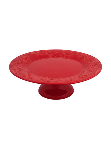 Bordallo Pinheiro Winter Red Cake Stand MPN: 65016601 EAN: 5600876072900