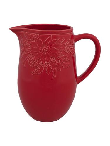 Bordallo Pinheiro Winter Red Pitcher MPN: 65016606 EAN: 5600876072924
