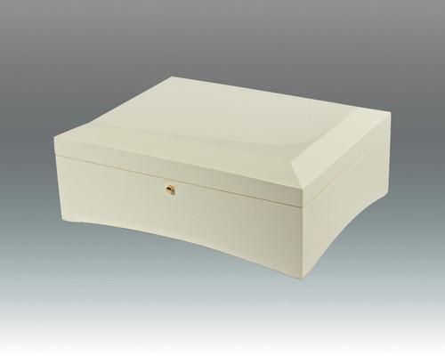 Tizo Stackable Jewelry Box White HomeBello