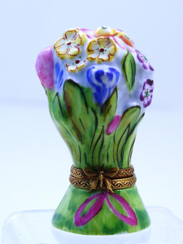 Chamart Bouquet Spring Flowers Limoges Box 2003\093