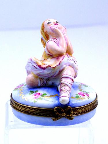 Chamart Ballerina Limoges Box 2002\085