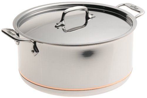 All Clad Copper Core 8 Qt. Stockpot with Lid