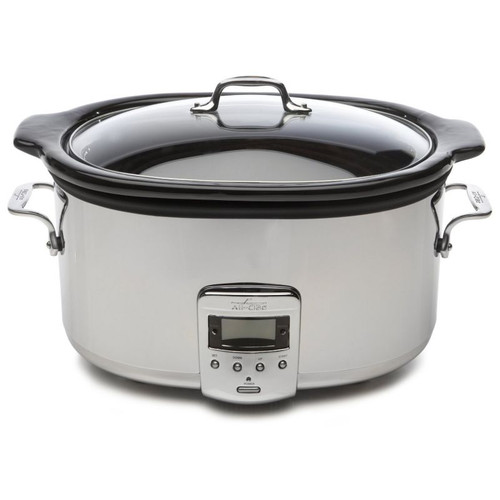 All Clad Electrics Slow Cooker with Black Ceramic Insert