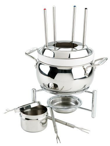 All Clad Specialty Cookware Fondue Pot with Ceramic Insert