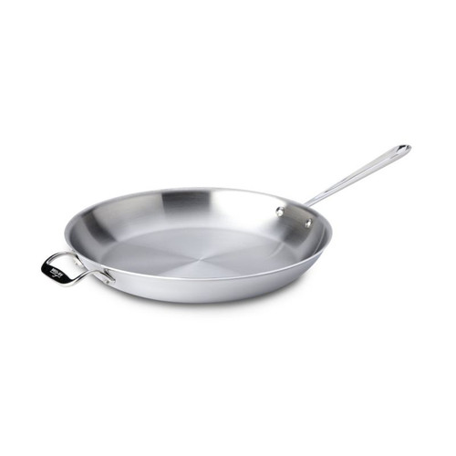 All Clad Stainless 14 Inch Fry Pan