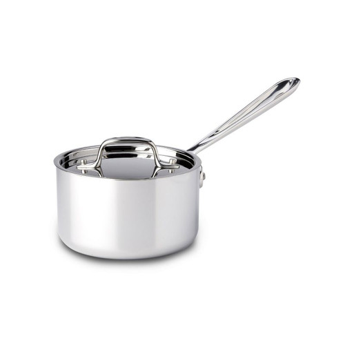 All Clad Stainless 1 Qt. Sauce Pan with Lid