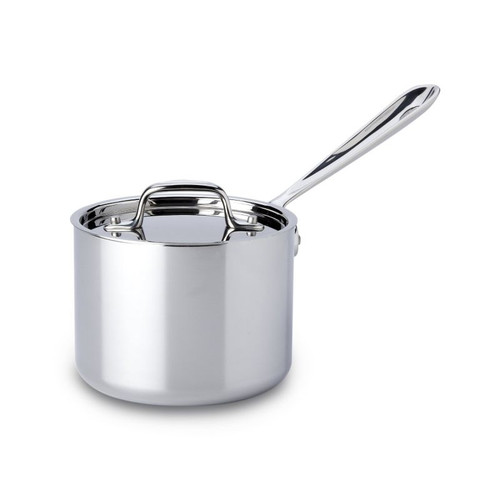 All Clad Stainless 2 Qt. Sauce Pan with Lid
