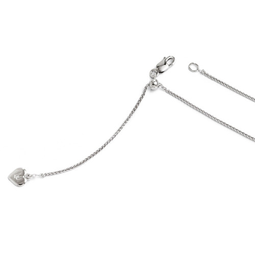 Adjustable Spiga Chain 30 Inch - Sterling Silver FC32-30