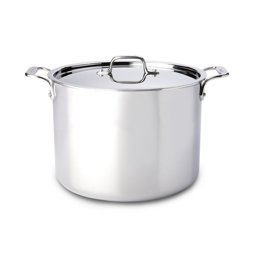 All Clad Stainless 12 Qt. Stockpot with Lid