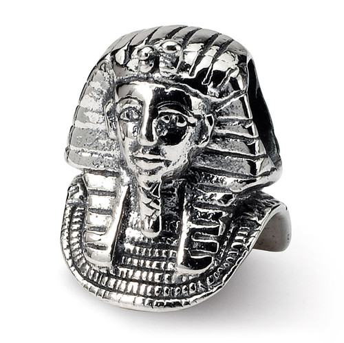 Pharaoh Bead - Sterling Silver QRS1090