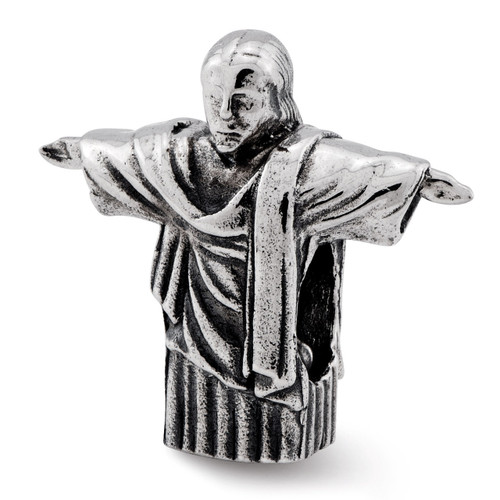 ChriSaint the Redeemer Bead - Sterling Silver QRS2357