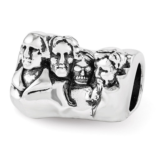 Mount Rushmore Bead - Sterling Silver QRS3428