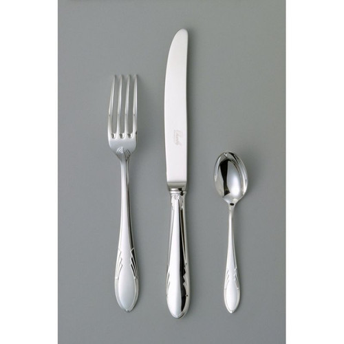Chambly Art Deco Oyster Cocktail fork - Silver Plated