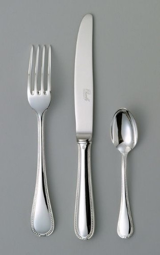 Chambly Perles 5 piece Place Setting - Silver Plated