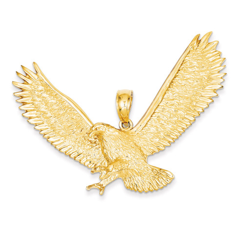 Eagle Pendant 14k Gold K4852