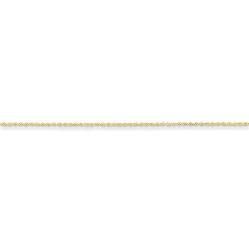 1.3mm Heavy-Baby Rope Chain 16 Inch 14k Gold PEN6-16