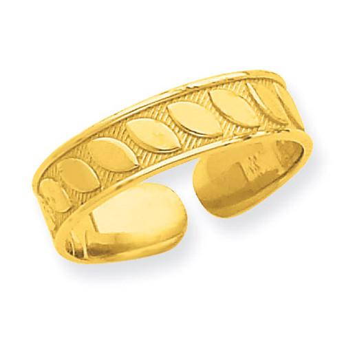 Toe Ring 14k Gold R547