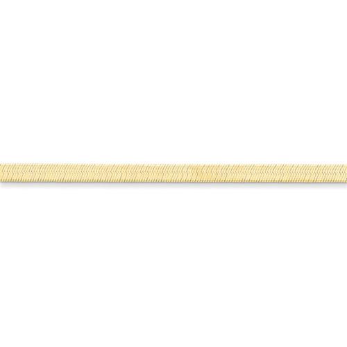 4.0mm Silky Herringbone Chain 18 Inch 14k Gold SLK040-18