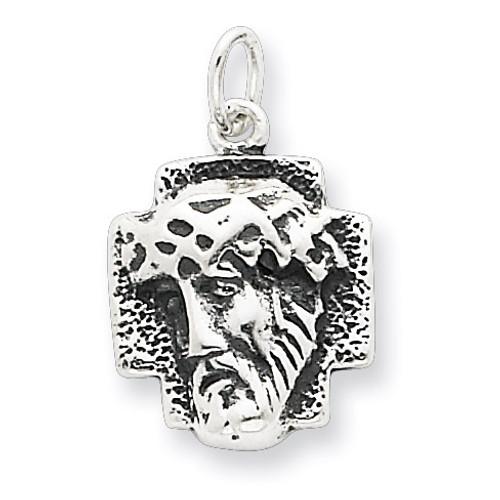 Ecce Homo Medal Antiqued Sterling Silver QC4380