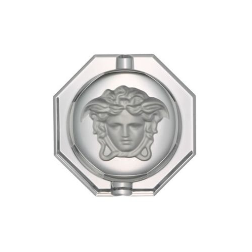 Versace Medusa Lumiere Ashtray Crystal 6 1/4 inch