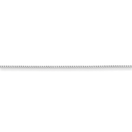 20 Inch 1mm Round Box Chain Sterling Silver QHX019-20
