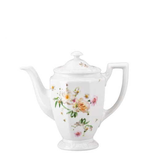 Rosenthal Maria Pink Rose Coffee Pot 37 ounce