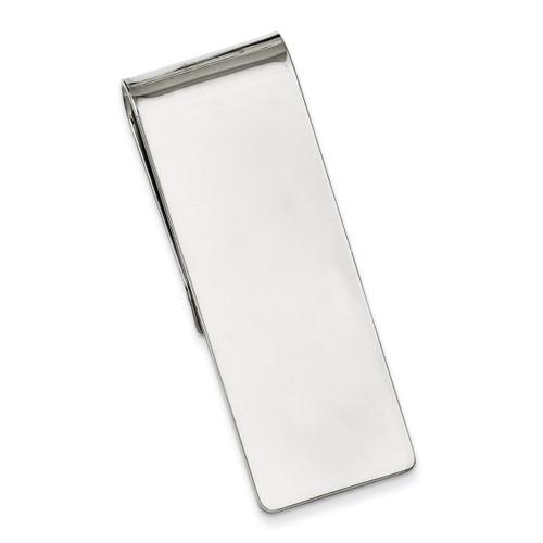 Money Clip Sterling Silver QQ23
