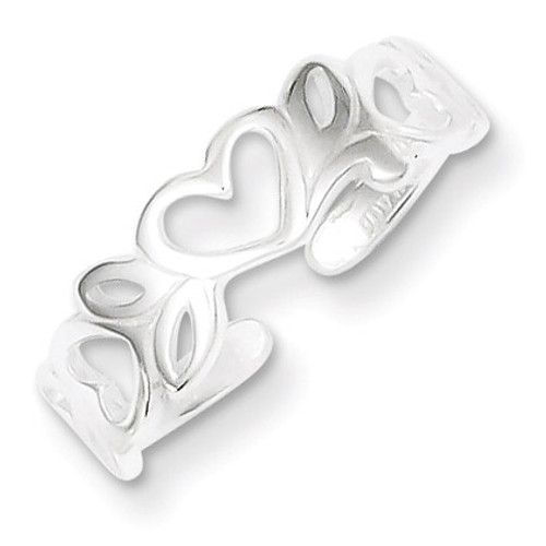 Toe Ring Sterling Silver QR1930