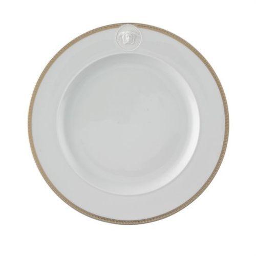 Versace Medusa Dor Dinner Plate 10 1/2 inch
